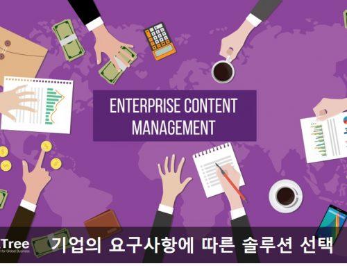 문서 관리와 콘텐츠 관리의 차이점은 무엇입니까?